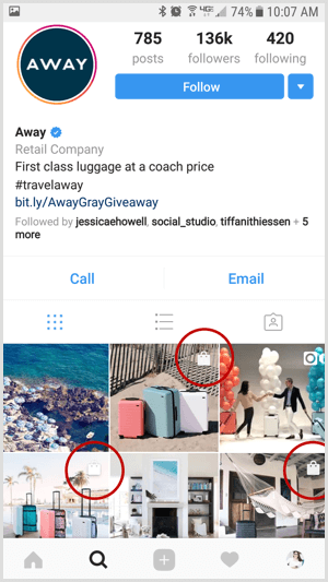 instagram-shoppable-post-on-business-profile