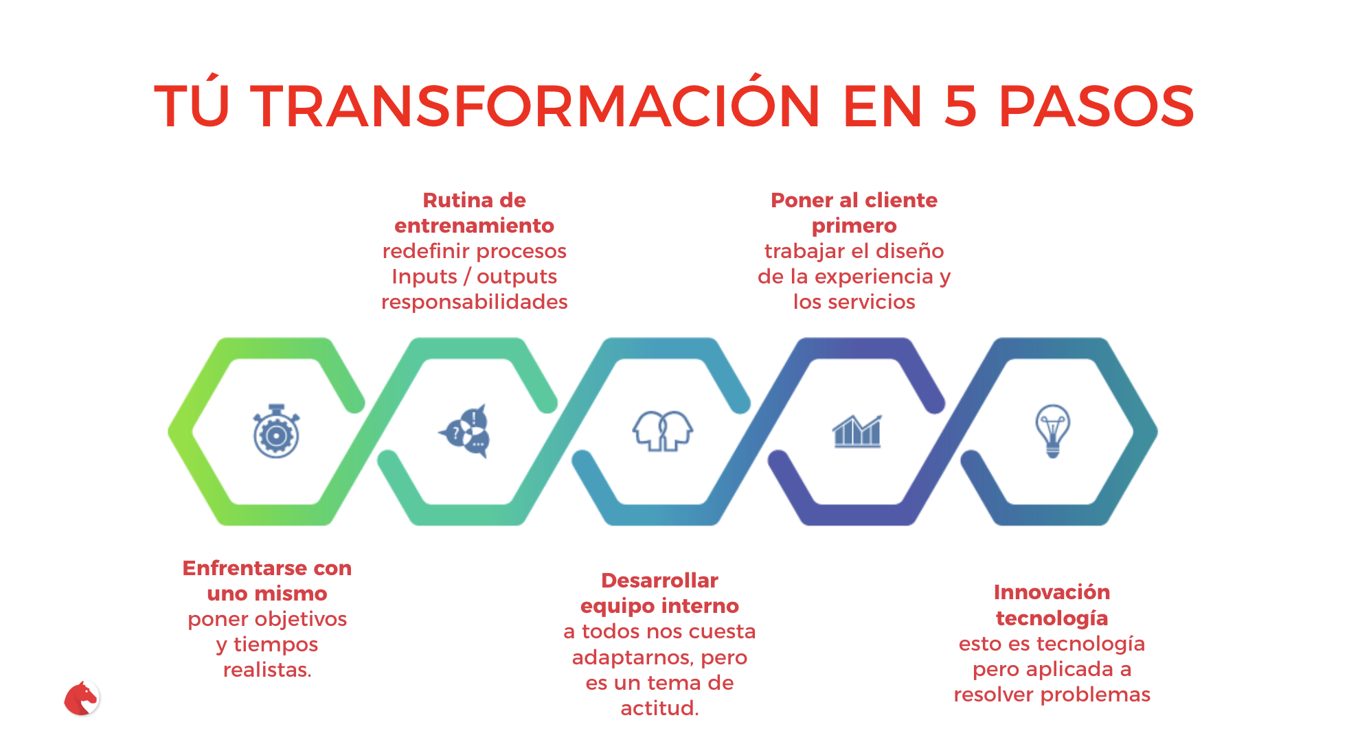 transformación digital 5 pasos Andimol